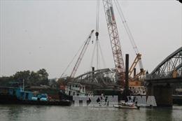 Đầu tháng 4 bắt đầu khôi phục cầu Ghềnh