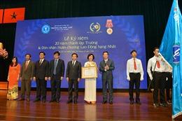 Trường ĐH Luật TP HCM nhận huân chương Lao động hạng Nhất