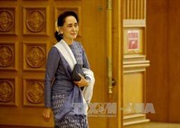 Bà Suu Kyi được bổ nhiệm làm Ngoại trưởng Myanmar