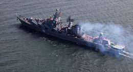 Hạm đội Thái Bình Dương Nga tập trận chung ở Biển Đông