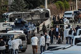 Đánh bom xe đẫm máu lính đặc nhiệm Thổ Nhĩ Kỳ