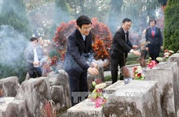 Xây Nhà tưởng niệm tri ân các anh hùng liệt sỹ mặt trận Vị Xuyên