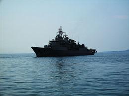 Hai tàu hải quân Thổ Nhĩ Kỳ thăm Ukraine