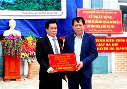 Hà Giang: Khởi công, quyên góp xây dựng Nhà tưởng niệm tri ân các anh hùng liệt sỹ mặt trận Vị Xuyên