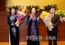 QH bầu Phó Chủ tịch nước, Chánh án Tối cao và Viện trưởng VKS