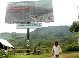 Ngôi làng không khói thuốc ở Indonesia