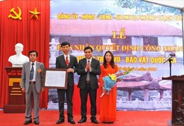 Tượng đền Trấn Vũ đón nhận Quyết định Bảo vật quốc gia