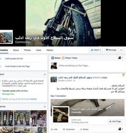 Facebook – chợ đen mua bán vũ khí của phiến quân