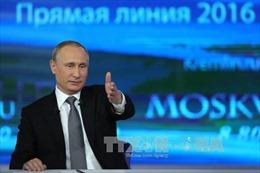 Tổng thống Putin trả lời 80 câu hỏi trong giao lưu trực tuyến