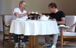 Ông Putin và Medvedev - Ai có thu nhập cao hơn?