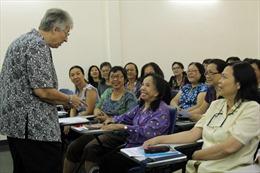 Cụ bà hơn 90 tuổi thông thạo hai ngoại ngữ