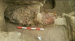 Phát hiện xác ướp 4.500 năm tuổi tại Peru