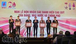Phó Thủ tướng Vương Đình Huệ dự kỷ niệm 20 năm thành lập PVI