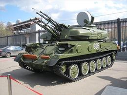 Dàn vũ khí Nga tham gia duyệt binh mừng Ngày chiến thắng