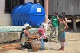 Đảm bảo nước sinh hoạt cho vùng khô hạn