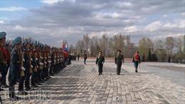 Việt Nam-Nga thúc đẩy quan hệ quốc phòng
