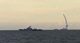 Tàu ngầm Nga phóng tên lửa Kalibr