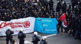 Đức bắt giữ 400 người biểu tình quá khích