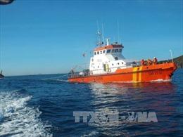 Cứu hộ ngư dân trên tàu cá bị đâm chìm ở Hoàng Sa
