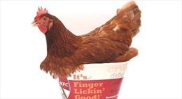 KFC bán sơn móng tay... hương vị gà rán