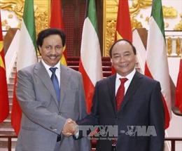 Thủ tướng Nguyễn Xuân Phúc hội đàm với Thủ tướng Kuwait