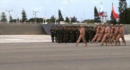 Diễn tập duyệt binh Ngày Chiến thắng tại căn cứ Hmeymim