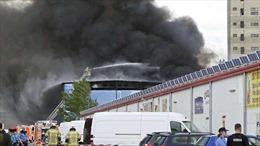 Cháy kho hàng ở Berlin, người Việt thiệt hại hàng trăm nghìn euro
