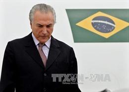 Ông Michel Temer trở thành Tổng thống lâm thời Brazil
