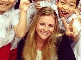 Nữ tuyển thủ Judo Anh gặp nạn khi đi xe ôm... ở Việt Nam