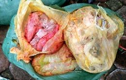 Chặn 600 kg nội tạng phân hủy tìm đường vào nhà hàng