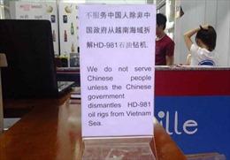 Không có chuyện nhà hàng Nha Trang tẩy chay khách Trung Quốc