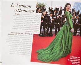 Lý Nhã Kỳ xuất hiện trên tạp chí Gala của Pháp