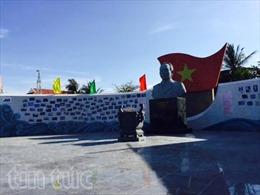 Khánh thành công viên Đại tướng Võ Nguyên Giáp ở Trường Sa