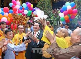 Đại lễ Phật đản Phật lịch 2560: Kêu gọi tăng ni, phật tử bảo vệ môi trường