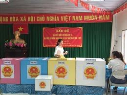 Xã đảo Thạnh An tưng bừng ngày bầu cử