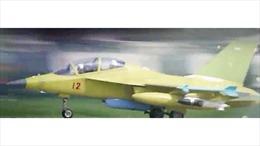 Trung Quốc để lộ máy bay huấn luyện trang bị vũ khí