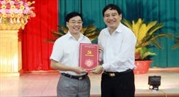 Ông Nguyễn Văn Thông giữ chức vụ Phó Bí thư Tỉnh ủy Nghệ An