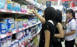 8 đơn vị đã kê khai giá sữa cho trẻ dưới 6 tuổi