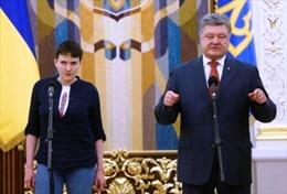 Nữ phi công Ukraine sẵn sàng làm Tổng thống