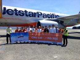 Bay Jetstar Pacific giữa Hà Nội - Chu Lai và Quy Nhơn