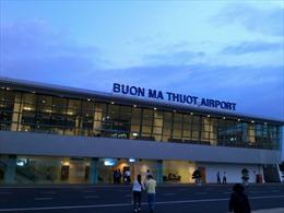 Sân bay Buôn Ma Thuột trở lại hoạt động bình thường
