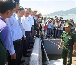 Thủ tướng tới hiện trường vụ chìm tàu trên sông Hàn