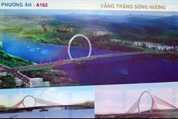 Trưng bày 20 phương án cầu vượt sông Hương lấy ý kiến người dân