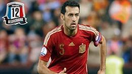 """Sergio Busquets - """"Tấm khiên"""" của đội tuyển Tây Ban Nha"""