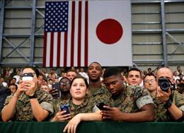 Vấn đề quân sự khiến Nhật- Mỹ chưa thể hòa đồng