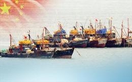 Hàn Quốc truy đuổi tàu cá Trung Quốc đánh bắt trái phép