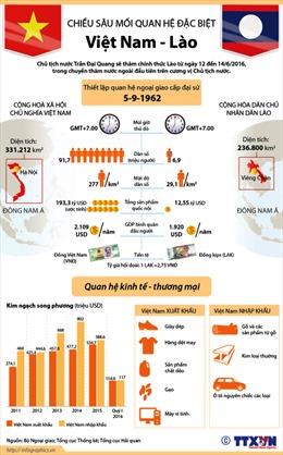 Chiều sâu mối quan hệ Việt - Lào