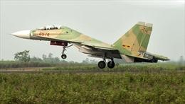 Máy bay Su-30 mất liên lạc khi đang bay huấn luyện
