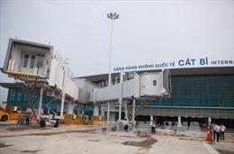Sân bay Cát Bi tạm ngừng hoạt động để sửa lún nứt