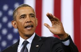 Tổng thống Obama tức giận mắng mỏ ông Trump